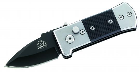 Puma TEC Springmesser, AISI 420, G-10-Schalen, Clip,