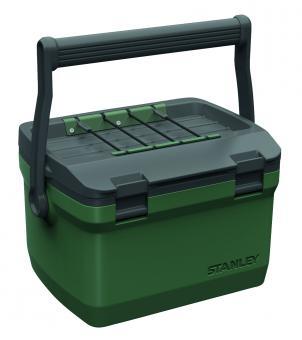 Stanley Adventure Kühlbox, 6.6 Liter Fassungsvermögen, grün, Doppelwandige Schaum-Isolation