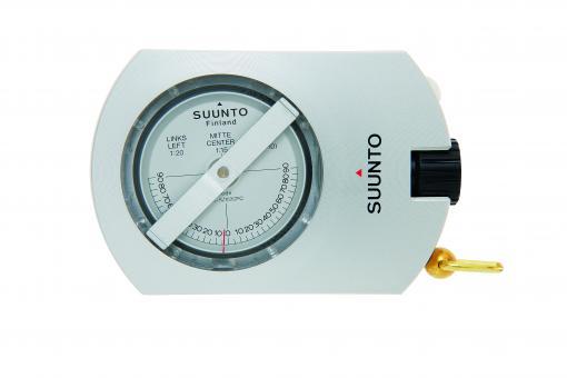 SUUNTO PM-5/1520 PC OPTI Baumhöhenmesser, Aluminiumgehäuse, linseatisches Ablesesystem, Stativgewinde, Tragekordel