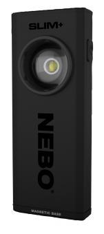 NEBO LED Taschenlampe SLIM+, 700 Lumen, 60 m Leuchtweite, Klasse 2 Laserpointer, Alugehäuse, Lithium-Ionen Akku
